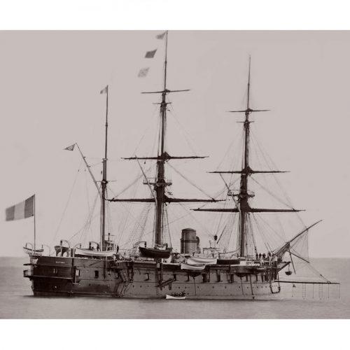 Photo d'époque Sur l'eau n°55 - Marine Nationale Le Suffren