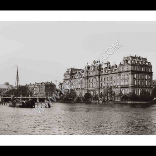 Photo d'époque Amsterdam n°02 - Intercontinental AMSTEL