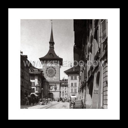 Photo d'époque Bern n°01 - La Tour de l'horloge