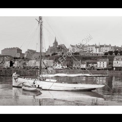 Photo d'époque Granville n°08 - le port