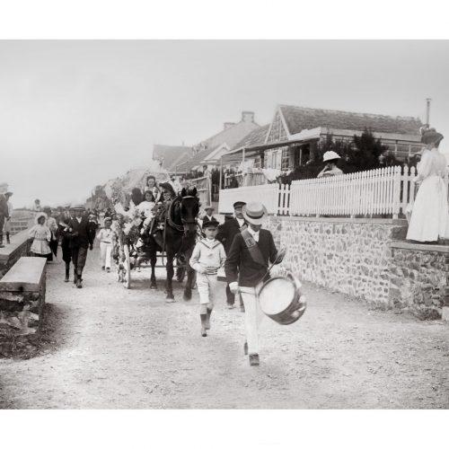 Photo d'époque Mer n°74 - Coutainville en Normandie