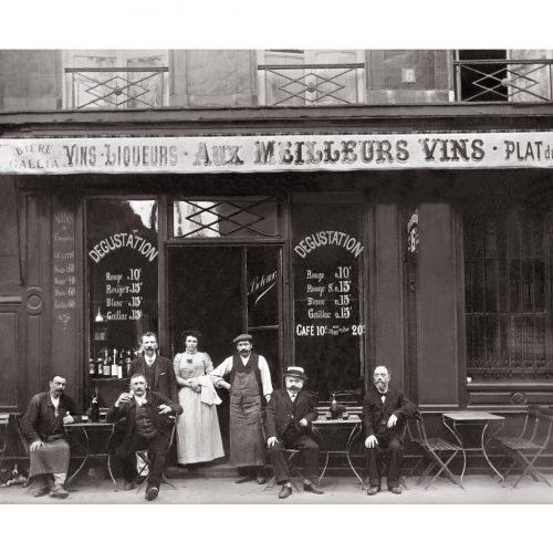 Photo d'époque Métiers n°40 - Café restaurant Faubourg Montmartre Paris
