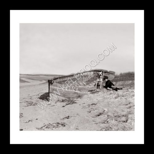 Photo d'époque Mer n°73 - Plage de Coutainville en Normandie