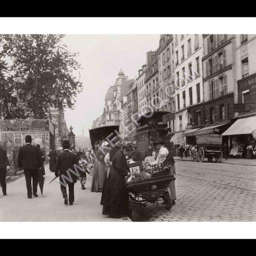 Photo d'époque Paris n°35 - rue du Faubourg Saint-Antoine - Paris 11