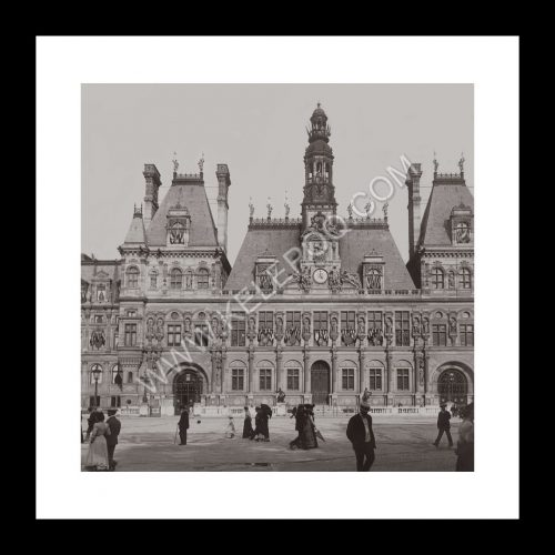 Photo d'époque Paris n°36 - hôtel de ville