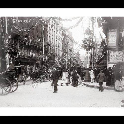 Photo d'époque Paris n°37 - visite du Roi d'Angleterre Edouard VII à Paris en 1903