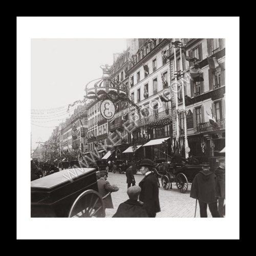 Photo d'époque Paris n°38 - visite du Roi d'Angleterre Edouard VII à Paris en 1903