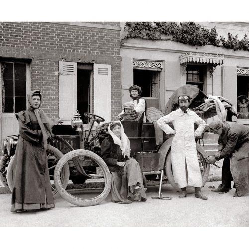 Photo d'époque Automobile n°76 - voiture ancienne