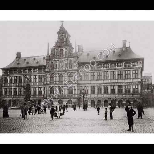 Photo d'époque Anvers n°01 - Hôtel de ville