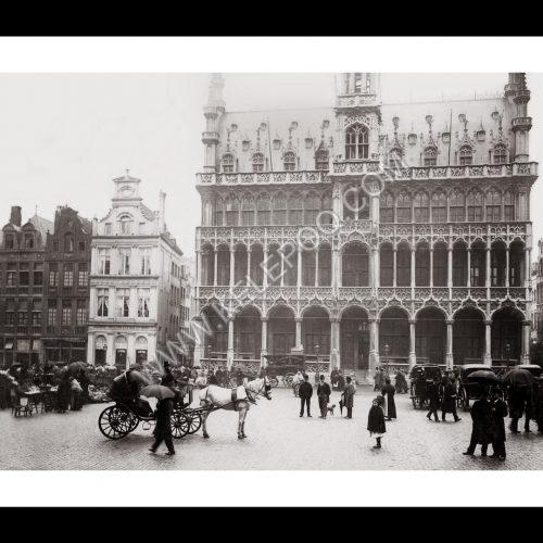 Photo d'époque Bruxelles n°05 - Maison du Roi
