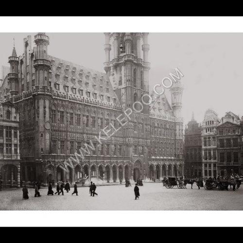 Photo d'époque Bruxelles n°06 - Hôtel de ville