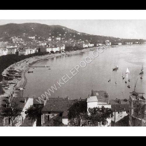 Photo d'époque Cannes n°07 - Baie de Cannes
