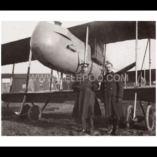 Photo d'époque Dans les airs n°26 - photo ancienne avion