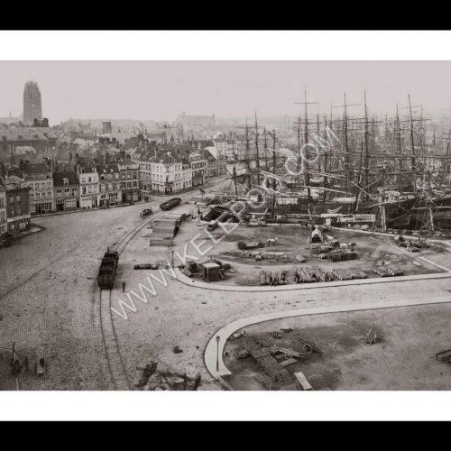 Photo d'époque Dunkerque n°01 - port de Dunkerque