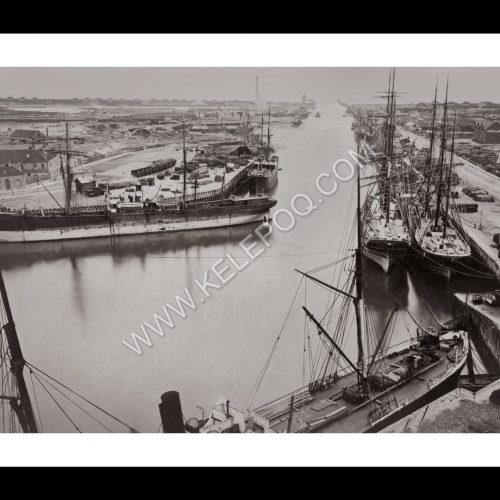 Photo d'époque Dunkerque n°02 - L'avant-port