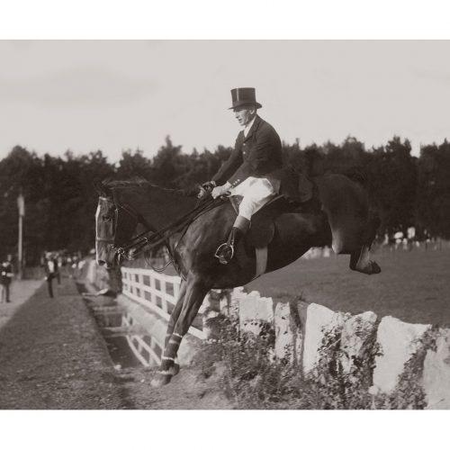 Photo d'époque Equitation n°60 - concours complet