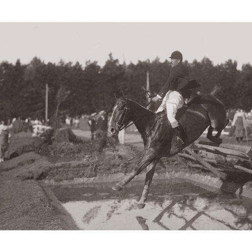 Photo d'époque Equitation n°62 - concours complet
