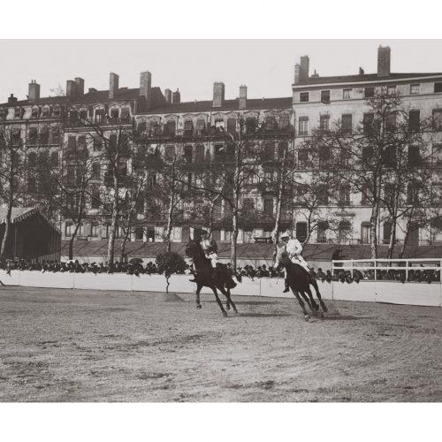 Photo d'époque Equitation n°66 - course hippique