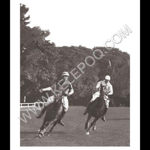 Photo d'époque Equitation n°63 - match de polo - Equipe anglaise - entrainement à Hurlingham