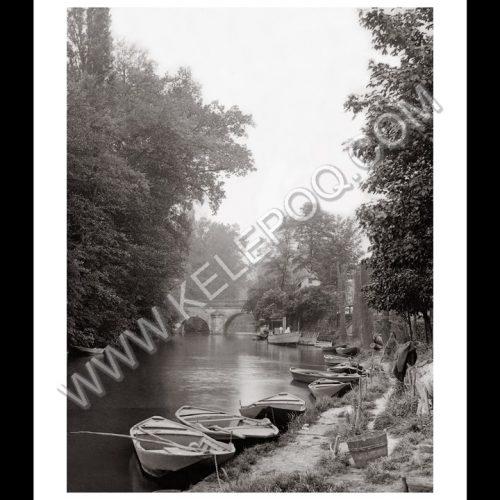 Photo d'époque L'Isle-Adam n°02 - pont de Cabouillet