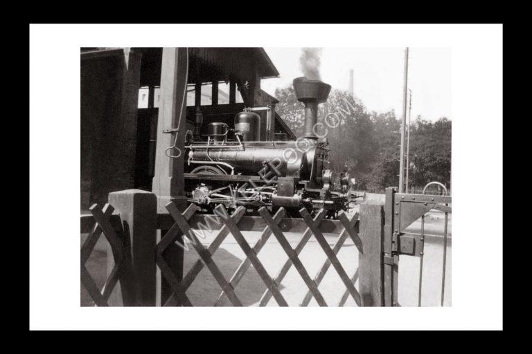 Photo d'époque Locomotive n°18 - locomotive à vapeur