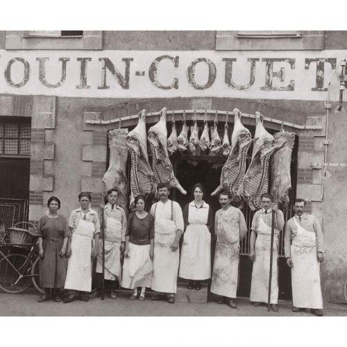 Photo d'époque Métiers n°43 - boucherie