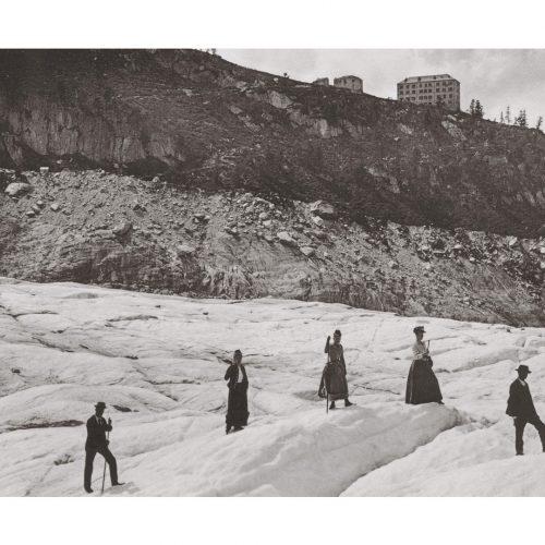 Photo d'époque Montagne n°109 - Mer de glace - Chamonix - 1892