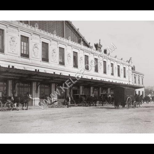 Photo d'époque Marseille n°17 - Gare de Marseille Saint-Charles