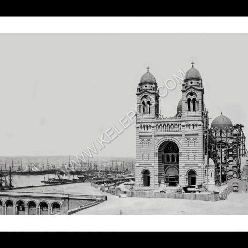 Photo d'époque Marseille n°18 - Cathédrale de la Major
