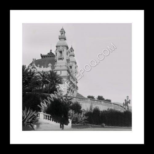 Photo d'époque Monaco n°06 - Opéra de Monte-Carlo (Salle Garnier)