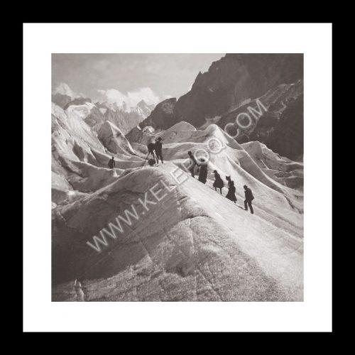 Photo d'époque Montagne n°110 - Traversée de la mer de glace