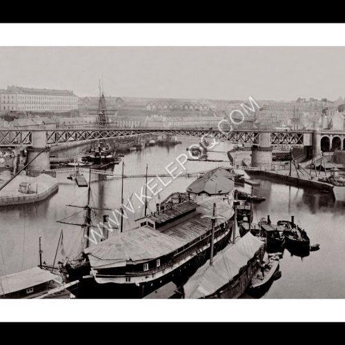 Photo d'époque Brest n°01 - Port Militaire Le Pont Tournant