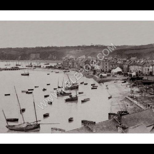 Photo d'époque Cancale n°04 - Le Port