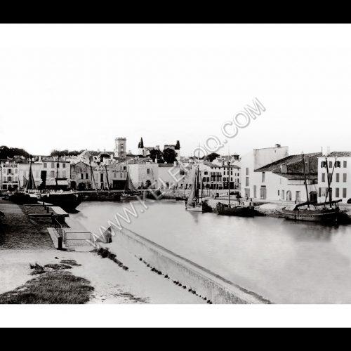 Photo d'époque Ile de Ré n°01 - Port de Saint-Martin-de-Ré