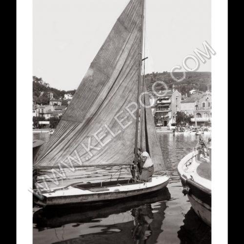 Photo d'époque Le Lavandou n°01 - le port