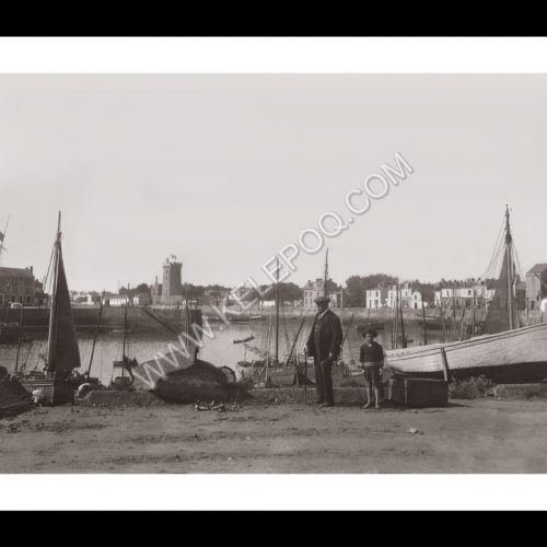 Photo d'époque Les Sables-d'Olonne n°21 - Le Port en 1931