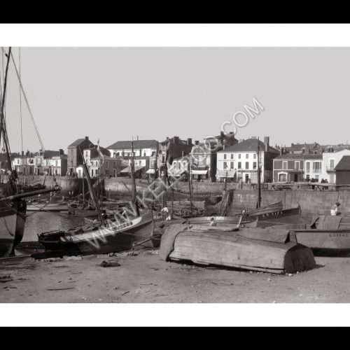 Photo d'époque Les Sables-d'Olonne n°22 - Le Port en 1931