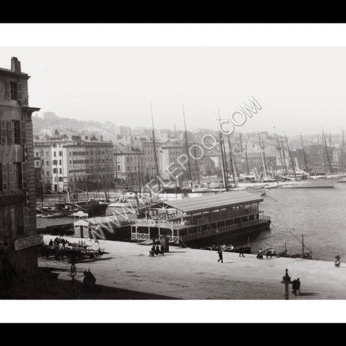 Photo d'époque Marseille n°21 - Le vieux port