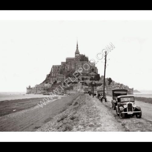 Photo d'époque Mont-Saint-Michel n°11