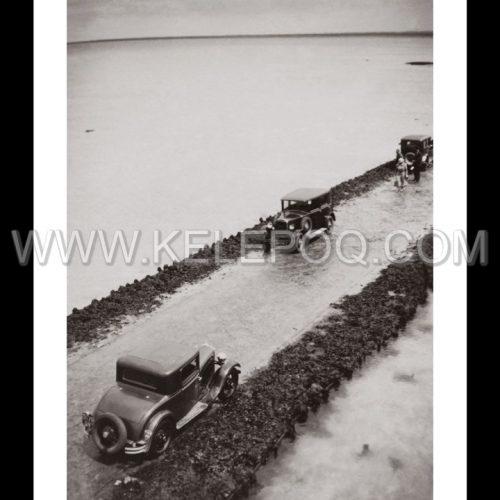 Photo d'époque Noirmoutier n°17 - Le Gois - 1934