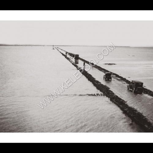 Photo d'époque Noirmoutier n°18 - Le Gois - 1934