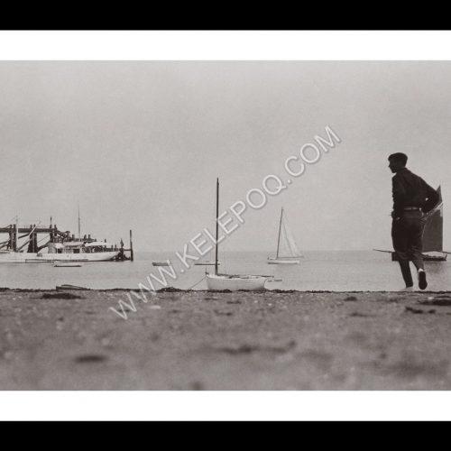Photo d'époque Noirmoutier n°20 - Plage des dames - 1937
