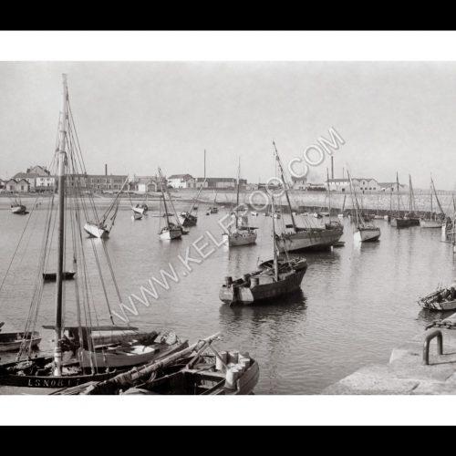 Photo d'époque Noirmoutier n°22 - Port de l'Herbaudière