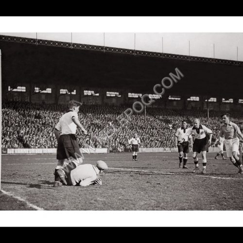 Photo d'époque SPORT n°86 - Football France contre Allemagne au stade de Colombes en 1931