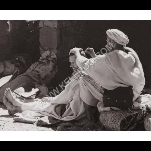 Photo d'époque Invitation au voyage n°13 - tatouages traditionnels berbères
