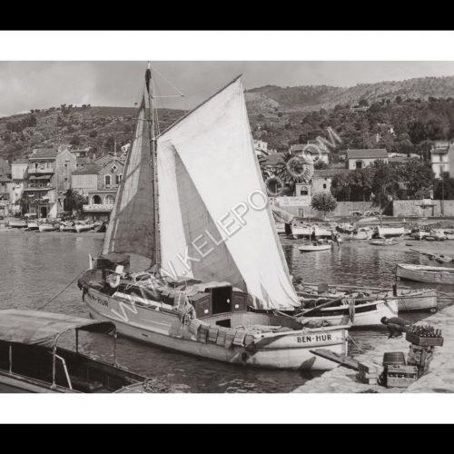 Photo d'époque Le Lavandou n°02 - le port