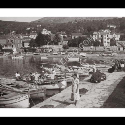 Photo d'époque Le Lavandou n°03 - le port