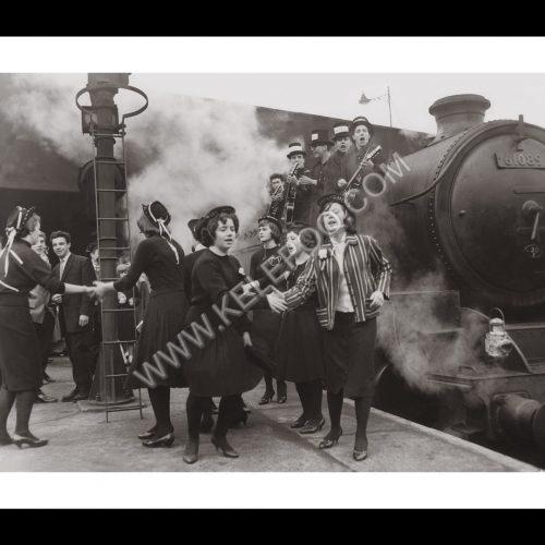 Photo d'époque Musique n°04 - Jazz Funerals - groupe de Jazz 'The Mourners' pour des funérailles - Nouvelle-Orléans