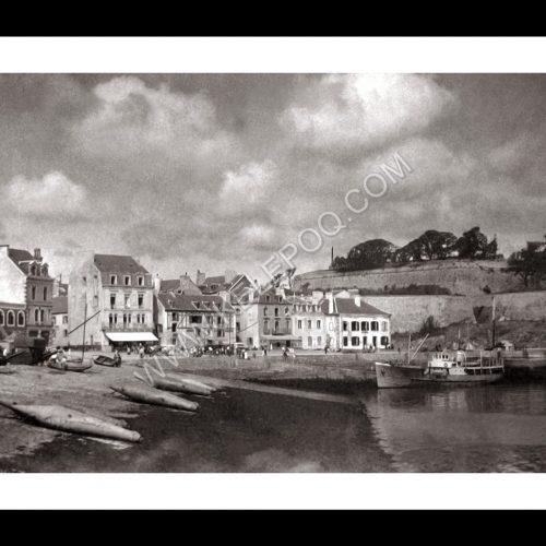 Photo d'époque Belle-Île-en-Mer n°02 - Le Palais (30x45)