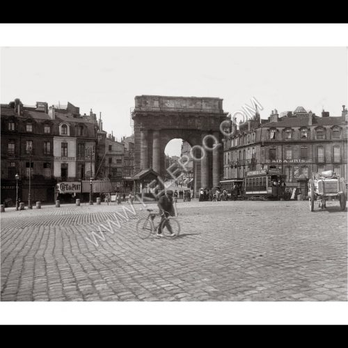 Photo d'époque Bordeaux n°08 - Porte de Bourgogne